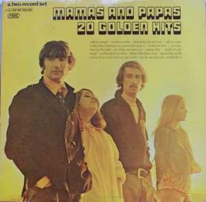 Gramofonska ploča Mamas And Papas 20 Golden Hits 1C 152-94 193/94, stanje ploče je 10/10