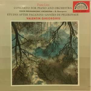 Gramofonska ploča Franz Liszt / The Czech Philharmonic Orchestra / George Georgescu Concerto For Piano And Orchestra SUA 10009, stanje ploče je 10/10