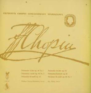 Fryderyk Chopin - Polonaisen - 8 20 139