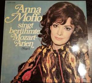 Gramofonska ploča Anna Moffo / Alceo Galliera / Philharmonia Orchestra London Anna Moffo Singt Berühmte Mozart-Arien 1 C 047-01 240, stanje ploče je 10/10