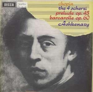 Chopin - The 4 Scherzi / Prelude Op.45 / Barcarolle Op.60 - LPSV-DC-370