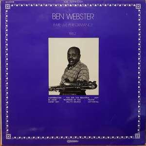 Gramofonska ploča Ben Webster Rare Live Performance 1962 30 JA 5159, stanje ploče je 10/10