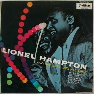 Gramofonska ploča Lionel Hampton And The Just Jazz All Stars Lionel Hampton And The Just Jazz All Stars LPL 744, stanje ploče je 10/10