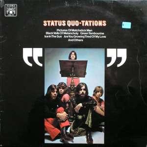 Gramofonska ploča Status Quo Status Quo-Tations MALS 1193, stanje ploče je 10/10