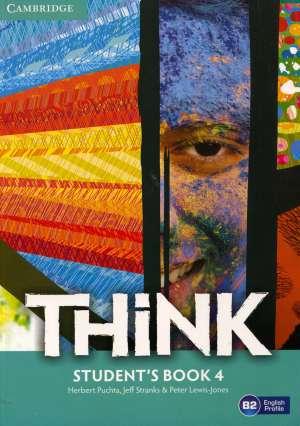 Herbert Puchta, Jeff Stranks, Peter Lewis-Jones, Autor - THINK B2: udžbenik engleskog jezika s dod. digitalnim sadržajima za 4. razred gimnazija i četverogodišnjih strukovnih škola