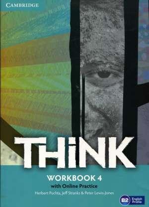 think B2: radna bilježnica engleskog jezika za 2.(ili 3.) razred <b>gimnazija i 4-godišnjih strukovnih škola autora Herbert Puchta, Jeff Stranks, Peter Lewis-Jones
