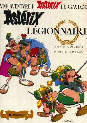 Asterix legionnaire Goscinny / Uderzo tvrdi uvez
