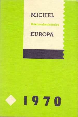 G.A., Autor - Michel briefmarken Katalog - Europa ohne Deutschland 1970