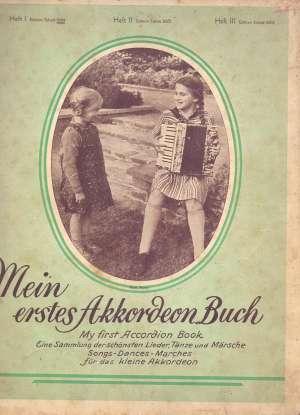 Willy Meyer I E. Lorenz, Autor - Mein erstes Akkordeon Buch