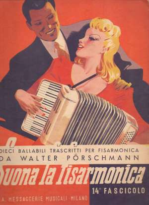Walter Porschmann, Autor - Suona la fisarmonica