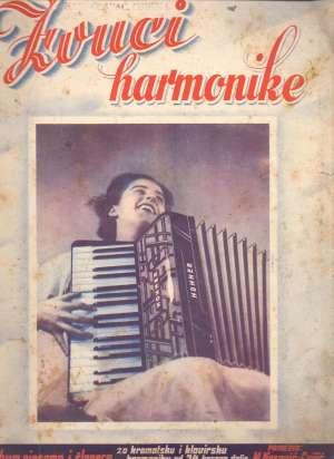 Zvuci harmonike M. Kasović - Cvijić meki uvez