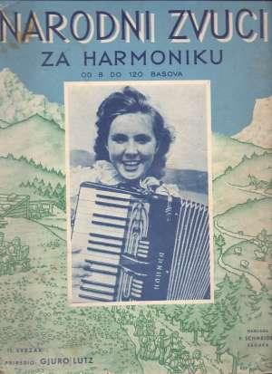 Gjuro Lutz, Autor - Narodni zvuci za harmoniku