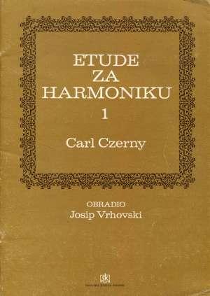 Carl Czerny, Autor - Etude za harmoniku 1