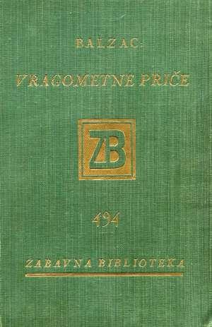 Balzac Honore De - Vragometne priče