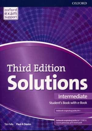Tim Falla, Paul A. Davies, Autor - SOLUTIONS 3rd ed. INTERMEDIATE: udžbenik engleskog jezika za 1. (i/ili 2.) razred gimnazija