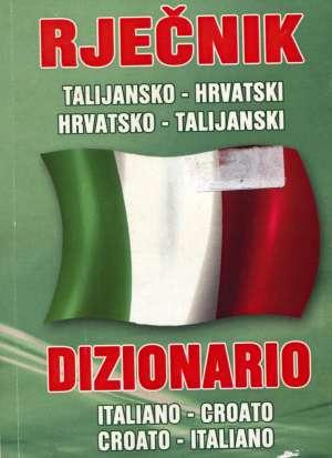 Talijansko - hrvatski i hrvatsko - talijanski rječnik Mario Simonelli , Priredio meki uvez