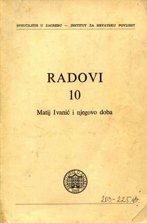 Josip Adamček, Uredio - Radovi 10