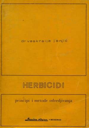 Vaskrsija Janjić - Herbicidi