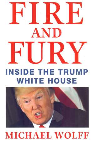 Muchaek Wolff, Autor - Fire and Fury