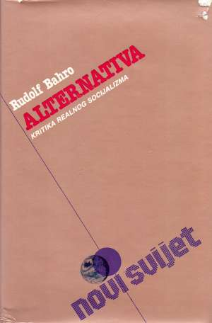 Rudolf Bahro, Autor - Alternativa