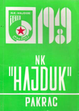 Duško Kliček, Autor - NK Hajduk Pakrac