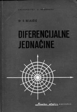D. Belajčić - Diferencijalne jednačine