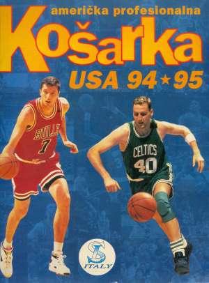Antonio Palmisano, Uredio - Američka profesionalna košarka - Usa '94-'95