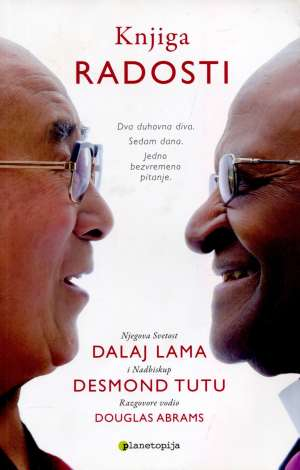 Knjiga radosti Douglas Abrams, Dalaj Lama, Desmond Tutu meki uvez