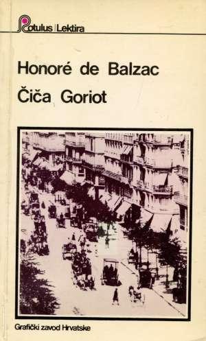 Balzac Honore De - Čiča Goriot