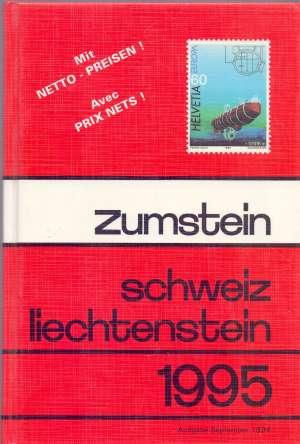 Zumstein Schweiz Liechtenstein 1995 G.A. tvrdi uvez