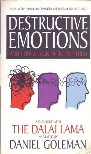 Destructive emotions and how we can overcome them Daniel Goleman, Dalai Lama meki uvez