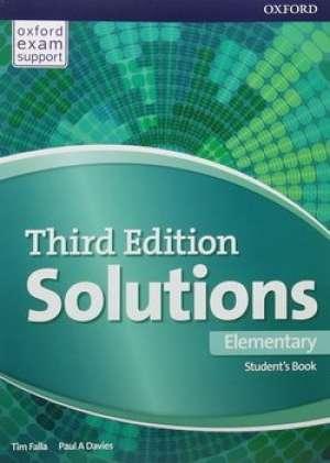 Tim Falla, Paul A. Davies - SOLUTIONS 3rd EDITION, ELEMENTARY: udžbenik engleskog jezika A2 za gimnazije i 4-godišnje strukovne škole