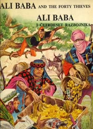 Ali Baba and the forty thieves = Ali Baba i četrdeset razbojnika Čedomir Jović meki uvez
