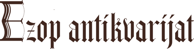 Ezop antikvarijat logo