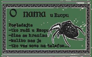 o nama zaposlenici ezopa Ezop antikvarijat Osijek hrvatska