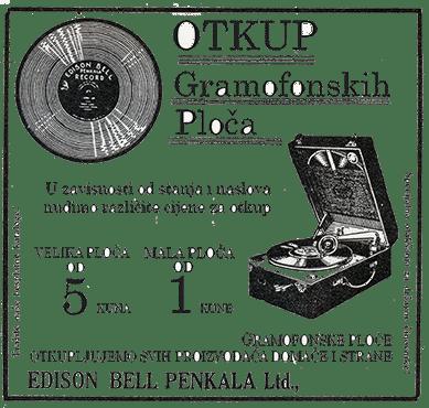 Ezop antikvarijat Osijek otkup gramofonski ploča