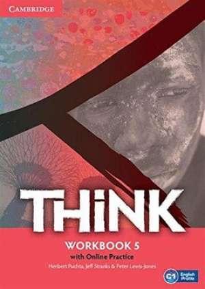 think C1: radna bilježnica engleskog jezika za 4. (i/ili 3.) razred gimnazija i 4-godišnjih strukovnih škola autora Herbert Puchta, Jeff Stranks, Peter Lewis-Jones