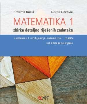 Matematika 1:  2.dio zbirka riješenih zadataka za
