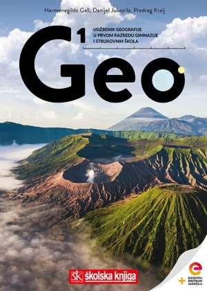 GEO 1 - udžbenik s dodatnim digitalnim sadržajima u 1. razredu gimnazija i strukovnih !2019!