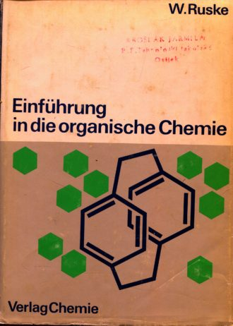 W. Ruske - Einführung in die organische Chemie