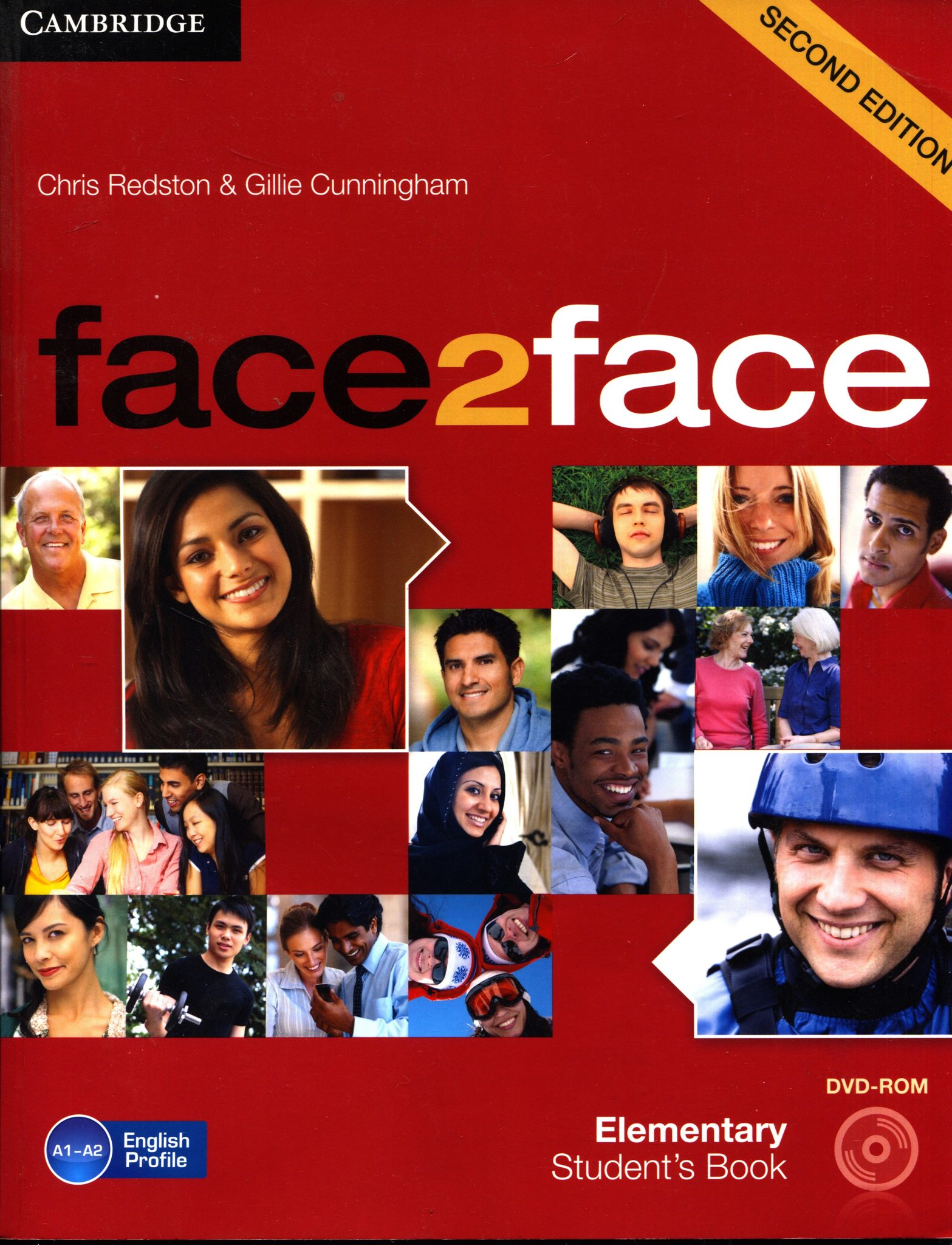 Chris Redston, Gillie Cunningham - Face2face second edition - elementary Student's book