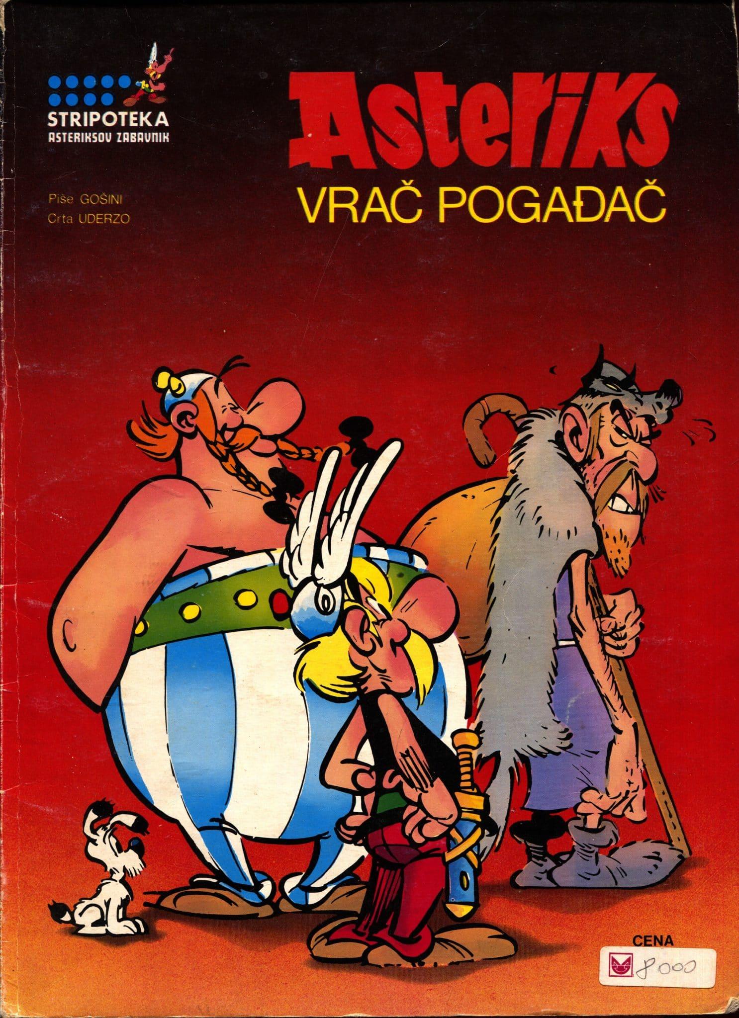 Asteriks Goscinny /piše, Uderzo /crta