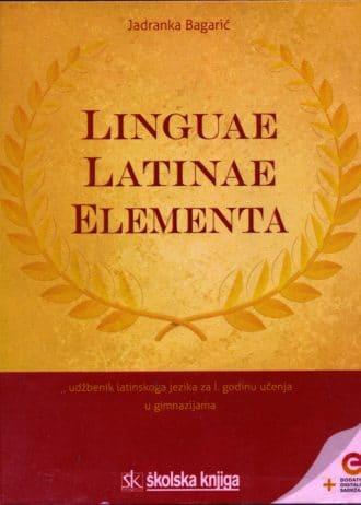 Jadranka Bagarić - LINGUAE LATINAE ELEMENTA - udžbenik latinskoga jezika za prvu godinu učenja u gimnazijama !2019!