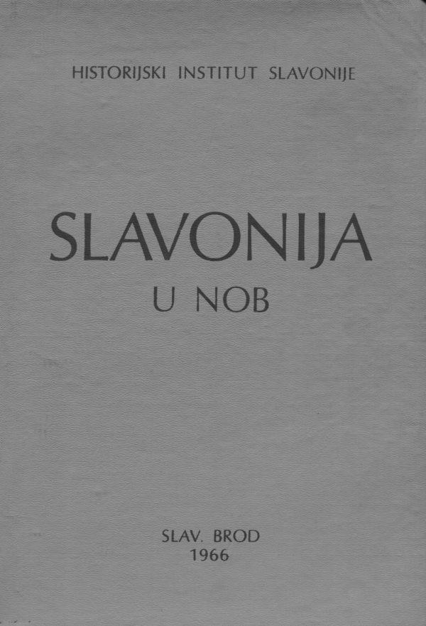 Slavonija u NOB Martin Kaminski urednik