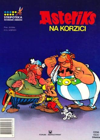 Goscinny /piše, Uderzo /crta - Asteriks na korzici
