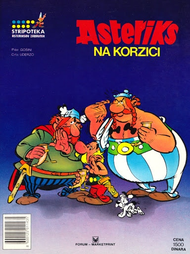 Asteriks na korzici Goscinny, Uderzo