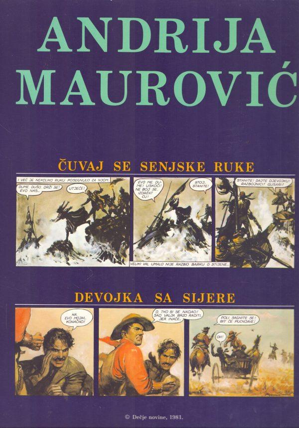 Maurović Andrija - Čuvaj se senjske ruke / Devojka sa Sijene