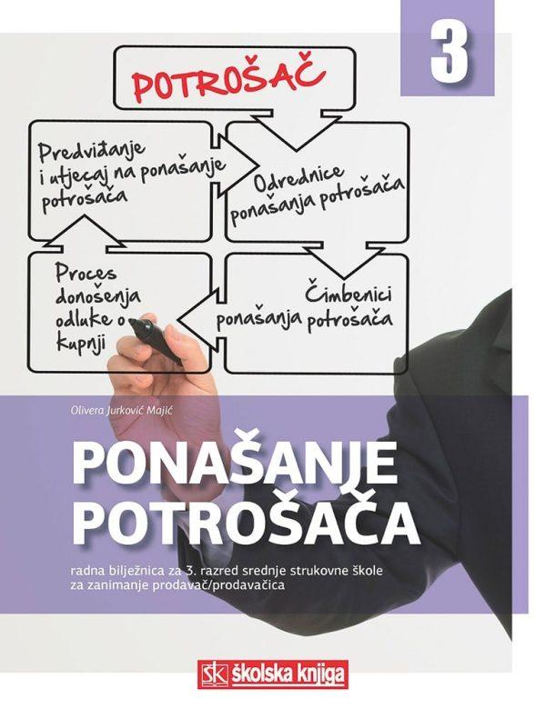 ponašanje potrošača : radna bilježnica u trećem razredu srednjih strukovnih škola za zanimanje prodavač/prodavačica autora Olivera Jurković Majić