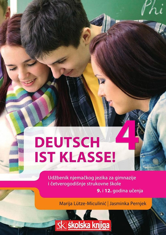 DEUTSCH IST KLASSE! 4 : udžbenik njemačkog jezika s audio CD-om  u četvrtom razredu gimnazija autora Jasminka Pernjek, Marija Lütze-Miculinić