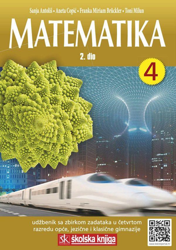 MATEMATIKA 4 -  2. DIO : udžbenik matematike